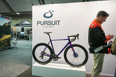 pursuit by carl strong (citymaus) Tags: nahbs 2019 sacramento convention center bike bikes bicycle bicycles cycle pursuit carl strong road purple showcase