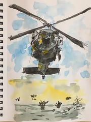 106/365. Blackhawk (Mark Bonica) Tags: army helicopter blackhawk