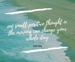 one small positive thought in the morning can change your whole day (level3edutech) Tags: quotesgram inspirationalquote quotesforlife inspirationalquotes quoteofthenight quotestoliveby quotesaboutlifequotesandsayings quotestagram quotesaboutlove quotesoftheday quotesforyou confidencequotes freedom lifestyleblog power challenge hardwork confidence determination dreamcatcher dream opportunity chance