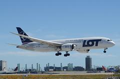 LOT 787-800 Dreamliner (SP-LRC) LAX Approach 2 (hsckcwong) Tags: lotairlines lot polishairlines 787800 7878 787 dreamliner splrc lax klax