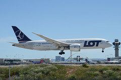 LOT 787-800 Dreamliner (SP-LRC) LAX Approach 3 (hsckcwong) Tags: lotairlines lot polishairlines 787800 7878 787 dreamliner splrc lax klax