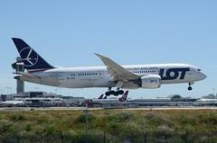 LOT 787-800 Dreamliner (SP-LRC) LAX Approach 4 (hsckcwong) Tags: lotairlines lot polishairlines 787800 7878 787 dreamliner splrc lax klax