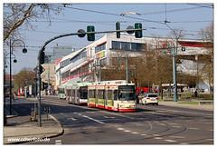 Tram Frankfurt (O) - 2019-11 (olherfoto) Tags: bahn tram tramcar tramway villamos strasenbahn frankfurtoder gt6m