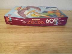 MB Zelda 60 Piece Puzzle 01 (gamescanner) Tags: milton bradley the legend zelda 60pc puzzle mb jigsaw