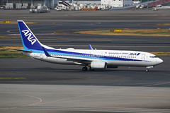 ANA Boeing 737-881 JA57AN (Mark Harris photography) Tags: spotting haneda japan canon 5d aviation plane