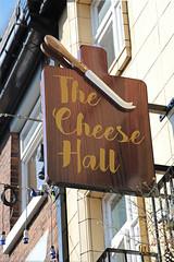 English Pub Sign - The Cheese Hall, Crewe (big_jeff_leo) Tags: pub pubsign publichouse sign streetart street cheshire crewe england english