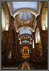 CATEDRAL DE LA INMACULADA CONCEPCIÓN. CATHEDRAL OF THE IMMACULATE CONCEPTION. CUENCA-ECUADOR. (ALBERTO CERVANTES PHOTOGRAPHY) Tags: catedraldelainmaculadaconcepcion cathedraloftheimmaculateconception catedral cathedral iglesia church inmaculadaconcepcion immaculateconception cuenca ecuador republicadelecuador interior inside photography photoborder photoart art creative reflejo reflection arquitectura architecture luz light color colores colors brillo brightcolors bright colorlight cruz cross indoor outdoor blur hall believe fe faith hope holy saint historia history icono iconic catedraldecuenca cathedralofcuenca city southamerica nightcolor country