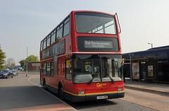 Go-Ahead London PVL395 (LX54 HBB) Horsham 17/4/19 (jmupton2000) Tags: lx54hbb transbus plaxton president volvo goahead london general central rail railway relacement bus