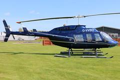G-VVBO_01 (GH@BHD) Tags: gvvbo bell bell206 bell206l3 longranger longrangeriii nugentaviation ulsterflyingclub newtownardsairfield newtownards helicopter chopper rotor aircraft aviation