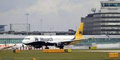 Monarch G-ZBAI _MG_0996 (M0JRA) Tags: monarch gzbai icelandair ryanair easyjet flyvlm delta virgin atlantic condor iceland air manchester airport airports jets flying aircraft sky clouds otts planes airplane jet cockpit grass window road building people photo
