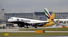 Monarch G-ZBAI _MG_0997 (M0JRA) Tags: monarch gzbai icelandair ryanair easyjet flyvlm delta virgin atlantic condor iceland air manchester airport airports jets flying aircraft sky clouds otts planes airplane jet cockpit grass window road building people photo