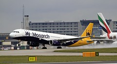 Monarch G-ZBAI _MG_0998 (M0JRA) Tags: monarch gzbai icelandair ryanair easyjet flyvlm delta virgin atlantic condor iceland air manchester airport airports jets flying aircraft sky clouds otts planes airplane jet cockpit grass window road building people photo