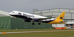 Monarch G-ZBAI _MG_1001 (M0JRA) Tags: monarch gzbai icelandair ryanair easyjet flyvlm delta virgin atlantic condor iceland air manchester airport airports jets flying aircraft sky clouds otts planes airplane jet cockpit grass window road building people photo