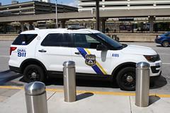 Philadelphia Police Ford Explorer (Airport) (mattman747) Tags: philadelphia police ford explorer pa pennsylvania international airport suv