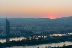 sDSC-1078 (L.Karnas) Tags: wien vienna wiedeń вена 維也納 ウィーン viena vienne austria österreich donau danube 2019 april sunset sonnenuntergang