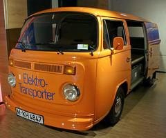 Electric Bulli (Schwanzus_Longus) Tags: einbeck german germany old classic vintage window van bus vehicle electric drive volkswagen vw t2 t2b transporter elektro bulli bully