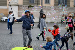 The Master of Bubbles (Vladimir Lazarov) Tags: street bubbles nikon z6 ztf 85mm