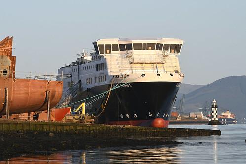 MV Glen Sannox - Port Glasgow - 31-03-19