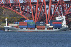Anna G - South Queensferry - 13-04-19 (MarkP51) Tags: ship boat vessel nikon sunshine sunny maritimephotography nikond500 annag southqueensferry firthofforth scotland containership nikon200500f56vr