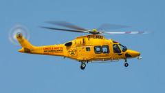 G-LNAC  AW-169 (MANX NORTON) Tags: lincs air ambulance raf waddington egxw