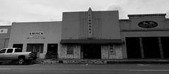 McGregor, Texas (clearbrook4) Tags: mcgregor texas library monochrome truck street luigis restaurant