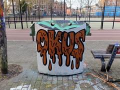 Schuttersveld (oerendhard1) Tags: graffiti streetart urban art rotterdam oerendhard crooswijk schuttersveld okus ihned oda