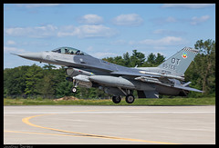 F-16C 85TES (jderden77) Tags: derden aviation airplane aircraft military northernlightning volkfield crtc jet fighter f16 fightingfalcon viper 85tes 85thtestandevaluationsquadron eglintest usaf airforce