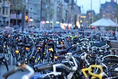 Amsterdam (conall..) Tags: rokin amsterdam bike bicycle nikon afs nikkor f18g lens 50mm prime primelens nikonafsnikkorf18g loadsofbikes