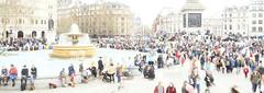 _B5A2766REWS Trafalgar Square, © Jon Perry, 23-3-19 zbq (Jon Perry - Enlightenshade) Tags: trafalgarsquare london highkey longexposure motion people flow jonperry enlightenshade arranginglightcom 23319 20190323