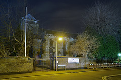 St James The Great, St James Street, Wednesbury 09/02/2019 (Gary S. Crutchley) Tags: wednesbury sandwell st james the great uk britain england united kingdom urban town townscape black country blackcountry staffordshire staffs west midlands westmidlands nikon d800 history heritage local night shot nightshot nightphoto nightphotograph image nightimage nightscape time after dark long exposure evening travel street slow shutter raw religion christianity faith worship gospel jesus christ crucifixion