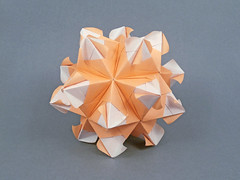 Emily (masha_losk) Tags: kusudama кусудама origamiwork origamiart foliage origami paper paperfolding modularorigami unitorigami модульноеоригами оригами бумага folded symmetry design handmade art