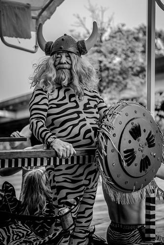 Zebra Car Crew Member