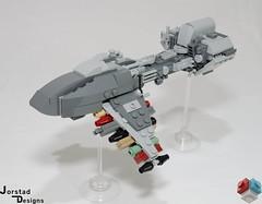 DSC_1387 (Jorstad Designs, LLC) Tags: lego star wars rebel alliance fleet mon calamari scale moc ucs jorstad designs llc mc80a mc80b home one liberty cruiser class hammerhead corvette mc30c frigate dp20 blockade runner