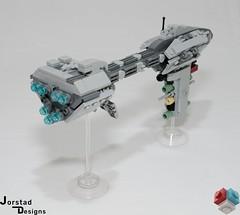 DSC_1386 (Jorstad Designs, LLC) Tags: lego star wars rebel alliance fleet mon calamari scale moc ucs jorstad designs llc mc80a mc80b home one liberty cruiser class hammerhead corvette mc30c frigate dp20 blockade runner