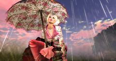 Spring Showers (Roxy River) Tags: secondlife sl spring showers rain umbrella