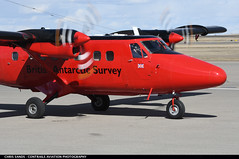 British Antarctic Survey DHC6 VPFBB (Sandsman83) Tags: airplane aircraft plane calgary cyyc yyc british antarctic survey dehavilland twinotter vpfbb turboprop