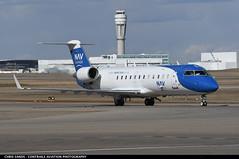 Nav Canada CRJ2 CGFIO (Sandsman83) Tags: airplane aircraft plane calgary cyyc yyc bombardier nav canada crj regionaljet cgfio taxi controltower
