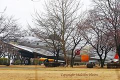 CURTISS C46A COMMANDO 91-1141 JASDF (shanairpic) Tags: military transport c46 curtisscommando jasdf japan preserved museum 911141