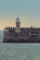 Folkestone Lighthouse (BeerAndLoathing) Tags: 2018 december folkestone englandtrip england winter uktrip 77d trip lighthouse canon kent uk winter2018