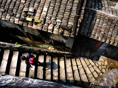 Rooftops (MelindaChan ^..^) Tags: qingyuan china 清遠 黃花鎮 door houses heritage chanmelmel mel melinda melindachan roof rooftop house pattern