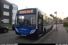 36028 (northwest85) Tags: stagecoach worthing 408 dcd 36028 alexander dennis adl enviro 200 dart 4 10 durrington tesco lincett avenue tarring bus 408dcd