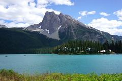 "EMERALD LAKE  (British Columbia) with Mount Burgess  (series 3/3) (xaciso) Tags: emerald lake ""emeraldlake"" ""mountburgess"" ""michelpeak"" ""waptamountain"" mount peak mountain yoho ""nationalpark"" ""yohonationalpark"" panorama columbia canada ""rockymountains"" ""touristattraction"" ""hikingtrailcircuits"" wheelchairs stollers ""presidentrangemountains"" ""westernredcedar"" ""westernyew"" ""westernhemlock"" ""westernwhitepine"" ""crosscountryskiing"" snowfalls skiing ""wetforests"" forest trees valley peaceful beauty ""emeraldcolor"" ""glacialsediment"" ""rockflour"" xaciso sony ""sonyilcea6000"" ""westerncanada"" pines pinos lago montañas pins llacs muntanyes neu"