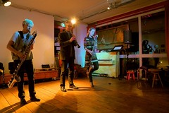 Lori Freedman, Ab Baars & Fie Schouten 7496-9_8810 (Co Broerse) Tags: music composed improvised jazz canadian connection roze tanker de amsterdam 2019 cobroerse lori freedman bass clarinet ab baars fie schouten