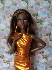 Barbie Look City Shine Bronze on Made to Move body (lita_liu) Tags: barbie look city shine bronze made move mattel doll