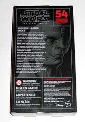 star wars the black series #54 supreme leader snoke 6 inch figure red packaging the last jedi basic action figures 2017 hasbro misb b (tjparkside) Tags: snoke supreme leader star wars black series 6 inch figure red 54 packaging last jedi basic action figures 2018 2017 hasbro episode eight 8 viii sith commander first 1st orderdark side robe scar scars belt kylo ren praetorian guard guards tlj misb