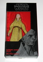 star wars the black series #54 supreme leader snoke 6 inch figure red packaging the last jedi basic action figures 2017 hasbro misb a (tjparkside) Tags: snoke supreme leader star wars black series 6 inch figure red 54 packaging last jedi basic action figures 2018 2017 hasbro episode eight 8 viii sith commander first 1st orderdark side robe scar scars belt kylo ren praetorian guard guards tlj misb