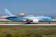TUI Airways Boeing 787-8 Dreamliner 'G-TUIH' LMML - 18.04.2019 (Chris_Camille) Tags: tui airways boeing 7878 dreamliner gtuih lmml 18042019 canon canonaviation photography