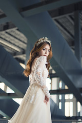 Erene Gown 8 ([EPIX Production]) Tags: people portrait portraits beautiful asian young girl pretty model carshow autoshow wedding gown dress prewedding bride marriage