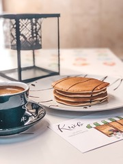 pancakes on plate - Credit to https://myfriendscoffee.com/ (John Beans) Tags: coffee cafe coffeebeans shopbeans espresso coffeecup cup drink cappucino latte