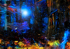 moonlit forest abstract (EOSXTi) Tags: moonlight forest dream visualart